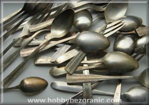 Czarne domowe srebro